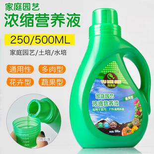 通用型植物营养液绿萝盆栽养花肥料有机肥水培富贵竹花卉多肉花肥