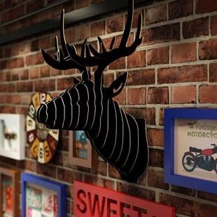 道具杂货铺壁柜复古装饰品小型小酒馆咖啡屋里花店出租屋款美发店
