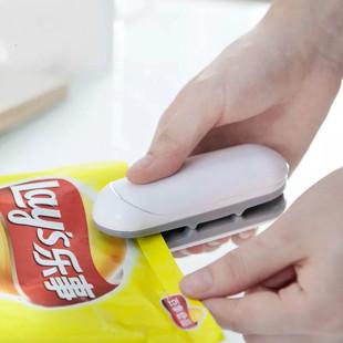零食封口机小型家用迷你塑封机包装塑料袋食品保鲜抽真空封口神器