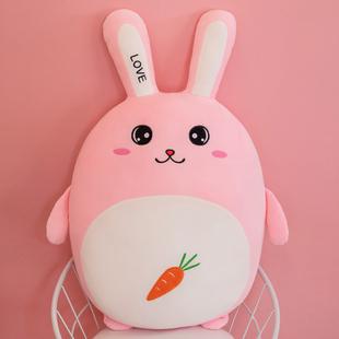 可爱兔子毛绒玩具抱枕陪你睡觉公仔床上娃娃玩偶圣诞节生日礼物女