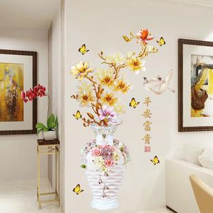 3D立體牆貼畫牆紙自粘兒童房間卧室背景牆壁裝飾品ins溫馨門貼紙