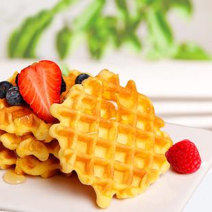 华夫饼面包格子饼整箱早餐食品