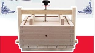 大号配件豆腐模具木盒工具商用压杆套装压板木制垫板厨房盒子家用