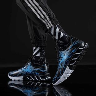 运动鞋2019新款鞋子男士布鞋男鞋休闲潮鞋板鞋百搭内增高跑鞋春季