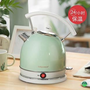 格立高电热烧水壶家用304不锈钢恒温小自动断电保温煮水壶