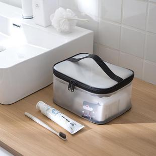 大容量沐浴洗澡包旅行便携防水ins网红收纳包洗漱包女小化妆品袋