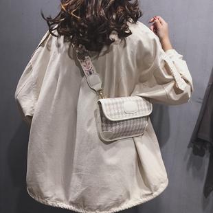 宽肩带斜挎ins上新小包包女包2020新款高级感韩版时尚百搭单肩包