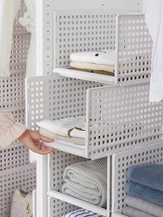 衣物抽屉储物箱塑料收纳箱整理箱分隔多层抽屉式收纳柜衣柜收纳盒
