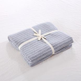 全棉无印床笠床垫套1.2单件床单简约纯色针织天竺棉 1.51.8m床罩