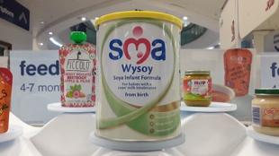 英国wyeth惠氏SMA Wysoy宝宝豆奶粉婴儿素食无乳配方800g桶装罐装