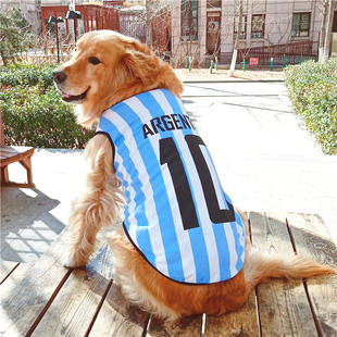 大狗狗衣服中型大型犬薄款春装背心夏装金毛萨摩耶拉布拉多哈士奇