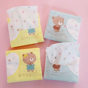 少女心纸巾60抽面巾纸学生卡通图案餐巾纸可爱创意便携手帕卫生纸