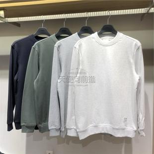 韩国直邮ZIOZIA 正品代购2019秋男士圆领打底休闲卫衣T恤 4色