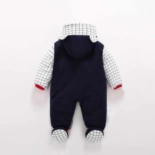 新生儿连袜衣服婴儿秋冬装加厚外出棉衣宝宝连脚包脚连体衣可拆帽