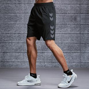 运动短裤男跑步健身速干潮休闲五分女夏季宽松训练中裤沙滩篮球裤