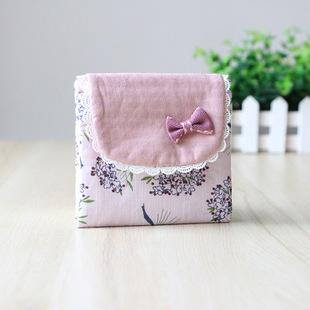 装姨妈m巾收纳包月事卫生棉便携小袋子大容量少女心随身学生可爱