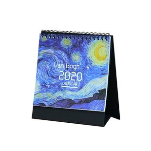 2020年ins小清新桌面台曆
