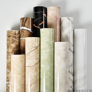 加厚厨房防油贴纸灶台大理石贴纸耐高温家用防水自粘台面橱柜贴。