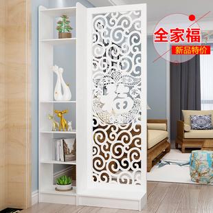 现代中式简约家具时尚屏风隔断客厅卧室餐厅镂空座屏玄关风隔断柜