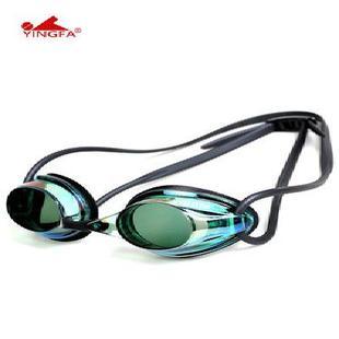 泳镜男女成人儿童通用高清防水防雾小镜框专业训练比赛游泳镜