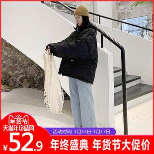 2018新款ins网红羽绒棉服女冬面包服东大门短款外套反季特卖清仓