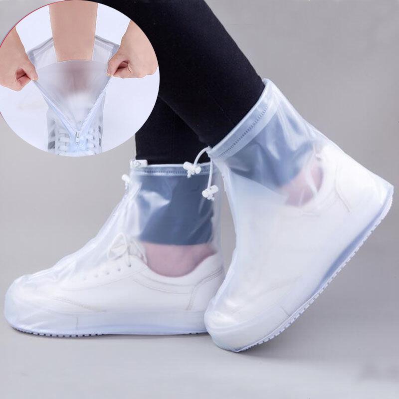 【漏水包赔】防雨鞋套下雨天男女雨鞋套防滑防雨防水加厚鞋套