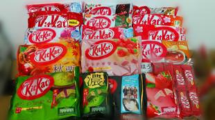 包邮 日本进口 雀巢kitkat 奇巧特浓抹茶巧克力威化饼干