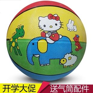 皮球兒童籃球玩具拍拍球幼兒園專用小學生嬰兒彈力四号皓童小皮球
