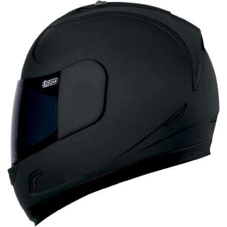 мото шлем Icon Alliance Dark Helmet (matte