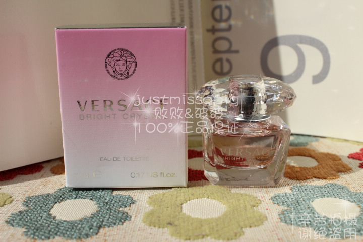 цена  Духи Versace  Bright Crystal 5ml  онлайн в 2017 году