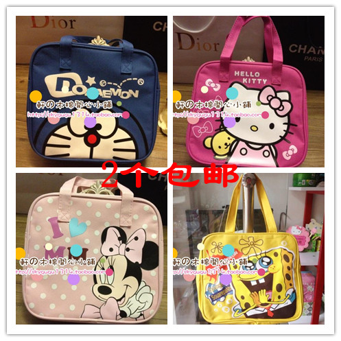 Сумка для ланчбоксов SpongeBob SquarePants 2013 HELLOKITTY cute spongebob squarepants figure plush backpack school bag style assorted