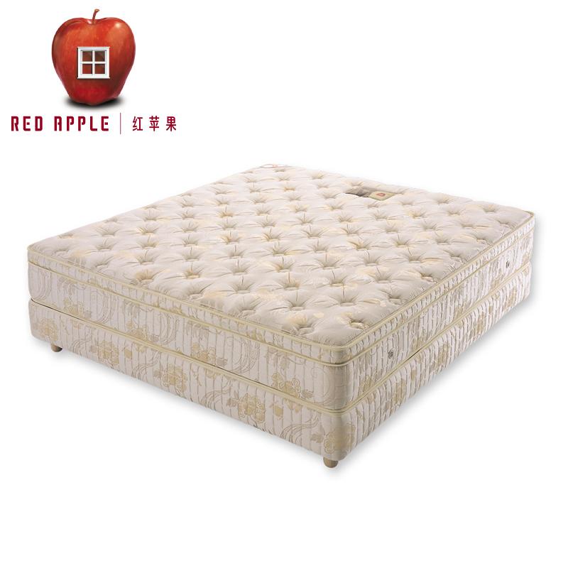 红苹果软硬6锁连环弹簧床垫 哥德III