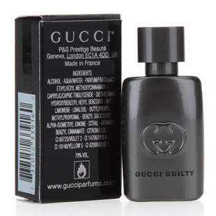 Духи Gucci  Guilty 5ML gucci туалетная вода flora by gucci fraiche 75 ml