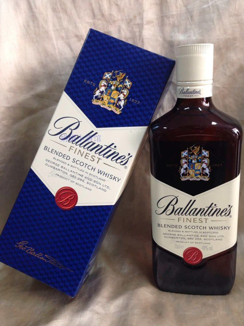 Виски/виски Ballantines  FINEST WHISKY their finest