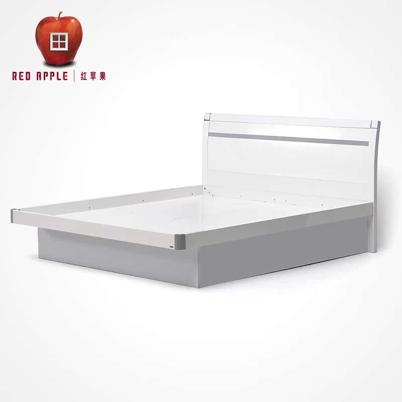 红苹果气压高箱储物双人床D8302-CB