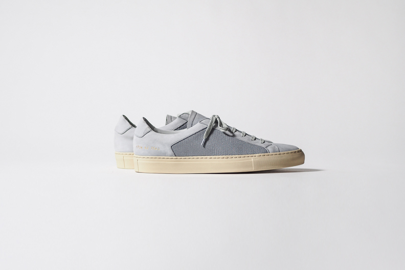 Демисезонные ботинки Common projects  Obscure Achilles Mesh Low Grey