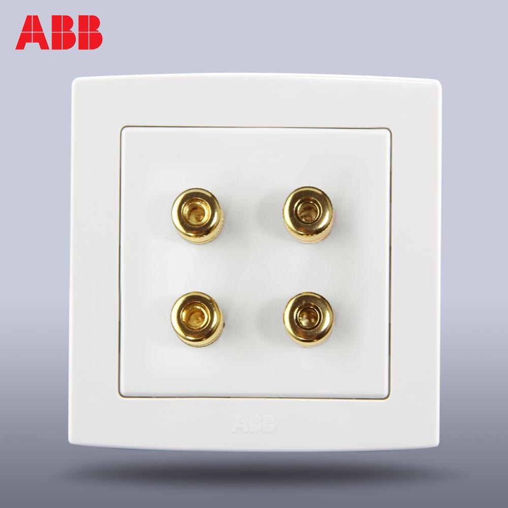 Аудио разъем ABB  AL342  abb abb bje династия античная латунь накладка механизма цифрого fm радио 8215 u 8200 0 0190