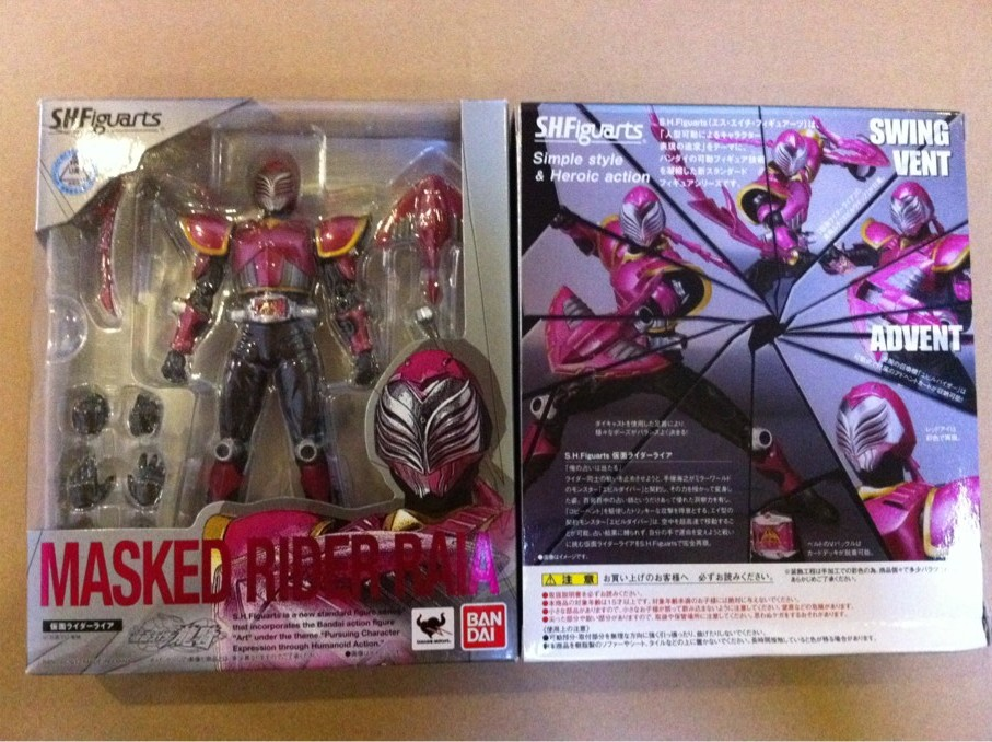 Куклы/ украшения/детали Bandai SHF Kamen Rider Raia japan kamen masked rider double original bandai tamashii nations shf s h figuarts toy action figure cyclone joker cj