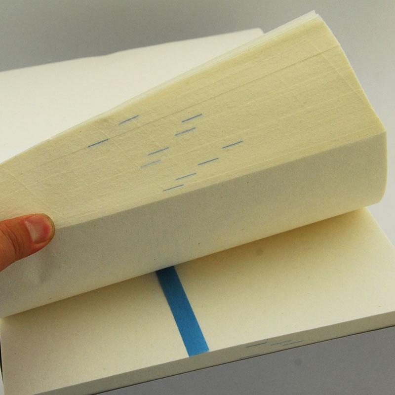 Бумага и инструменты для каллиграфии Baifeng дорога половину бумаги, импортируемых из Японии в специальных Толстая бумага для каллиграфии практике бумаги бумаги 1000 10 нож
