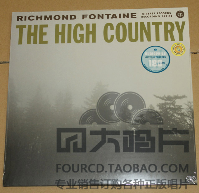 Музыка CD, DVD   DIV031LP RICHMOND FONTAINE-THE HIGH COUNTRY LP vildhjarta vildhjarta masstaden lp cd