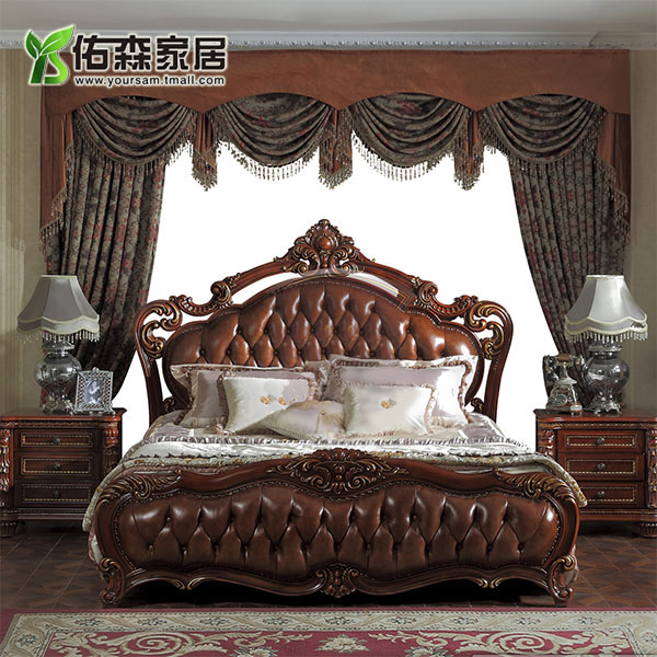 Кровать из массива дерева Your SAM  1.8 кровать из массива дерева xuan elegance furniture
