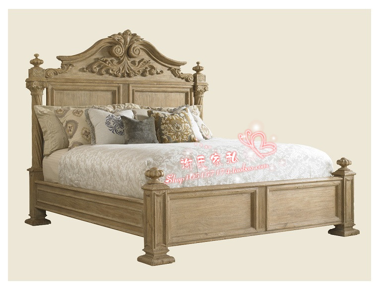 Кровать из массива дерева Xie furniture  -2 кровать из массива дерева austin furniture 1 8