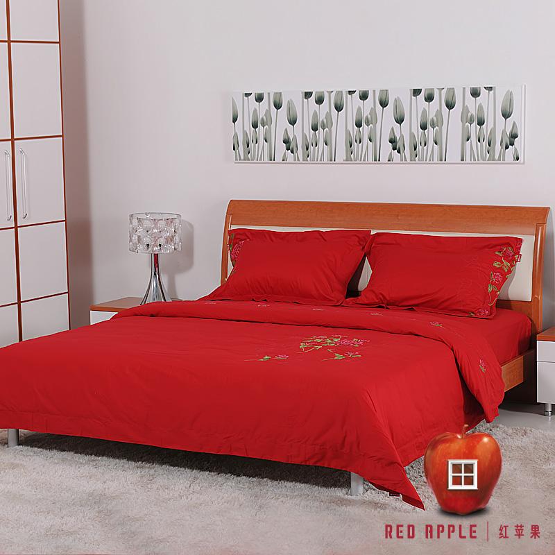 红苹果家纺床上用品4件套A316