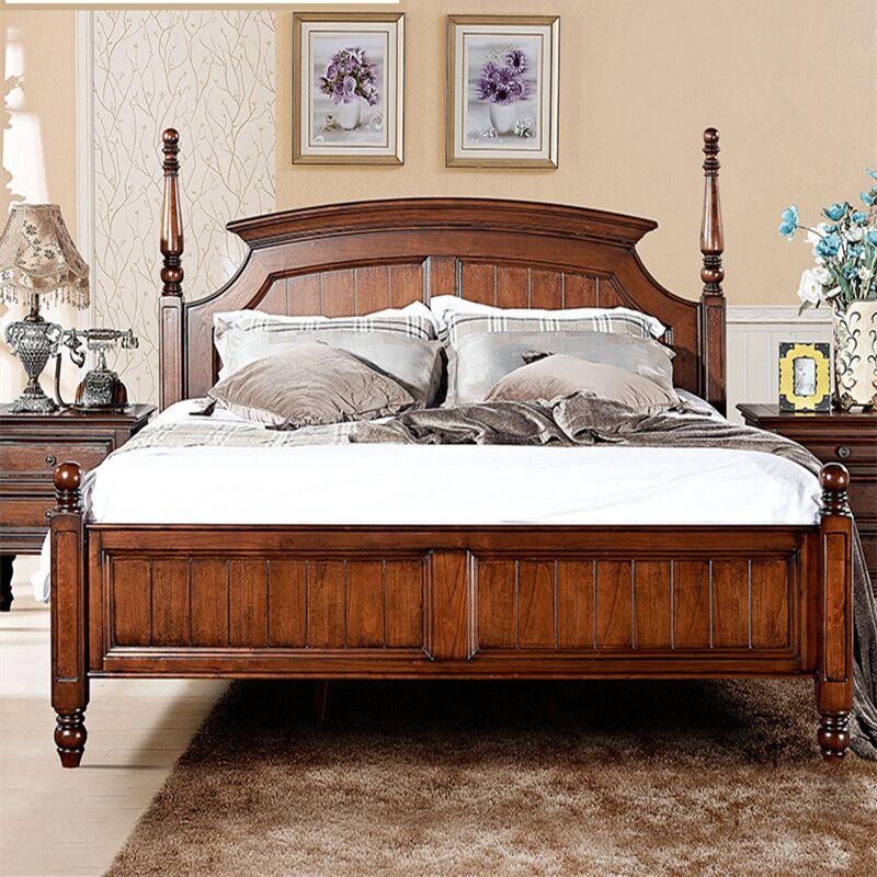 Кровать из массива дерева American lifestyle Museum  1.8