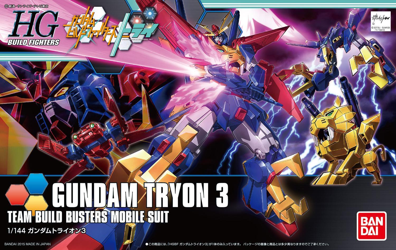 Игрушки из сериалов Gundam Bandai HGBF 38 038 Gundam Tryon ZZ bandai bandai gundam model sd q version bb 309 sangokuden wu yong bian xiahou yuan battle