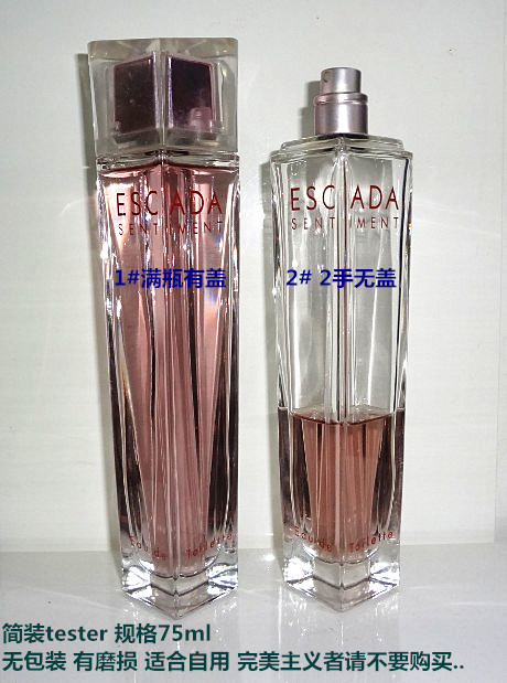 Духи ESCADA  &2 75ml Edt духи versace edt 75ml