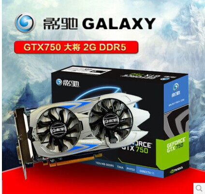 все цены на  Видеокарта Galaxy  GTX 750 2G DDR5 GTX650TI HD7770  онлайн