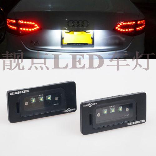 лампа   Audi A4 B8 A5 Q5 S5 TTS4 LED/CREE фары номерного знака candy 5 18 smd audi audi a4 b8 s4 a5 s5 q5 s tt rs