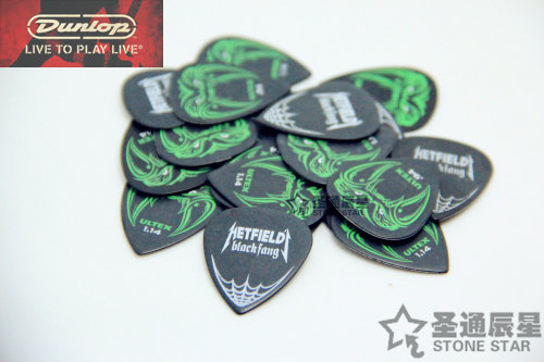 Медиатор Dunlop  Metallica James электрогитара ltd james hetfield snakebyte metallica
