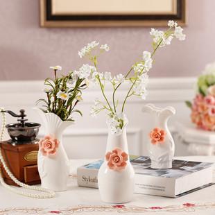 特价欧式陶瓷袖珍小花瓶